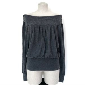 Free People Off the Shoulder Sweater Size S
